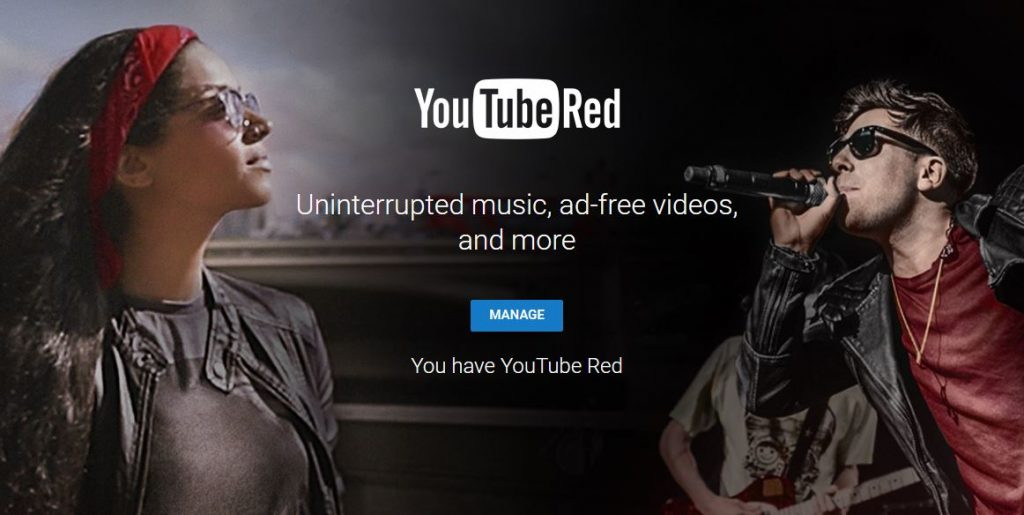 YouTube Red Cover